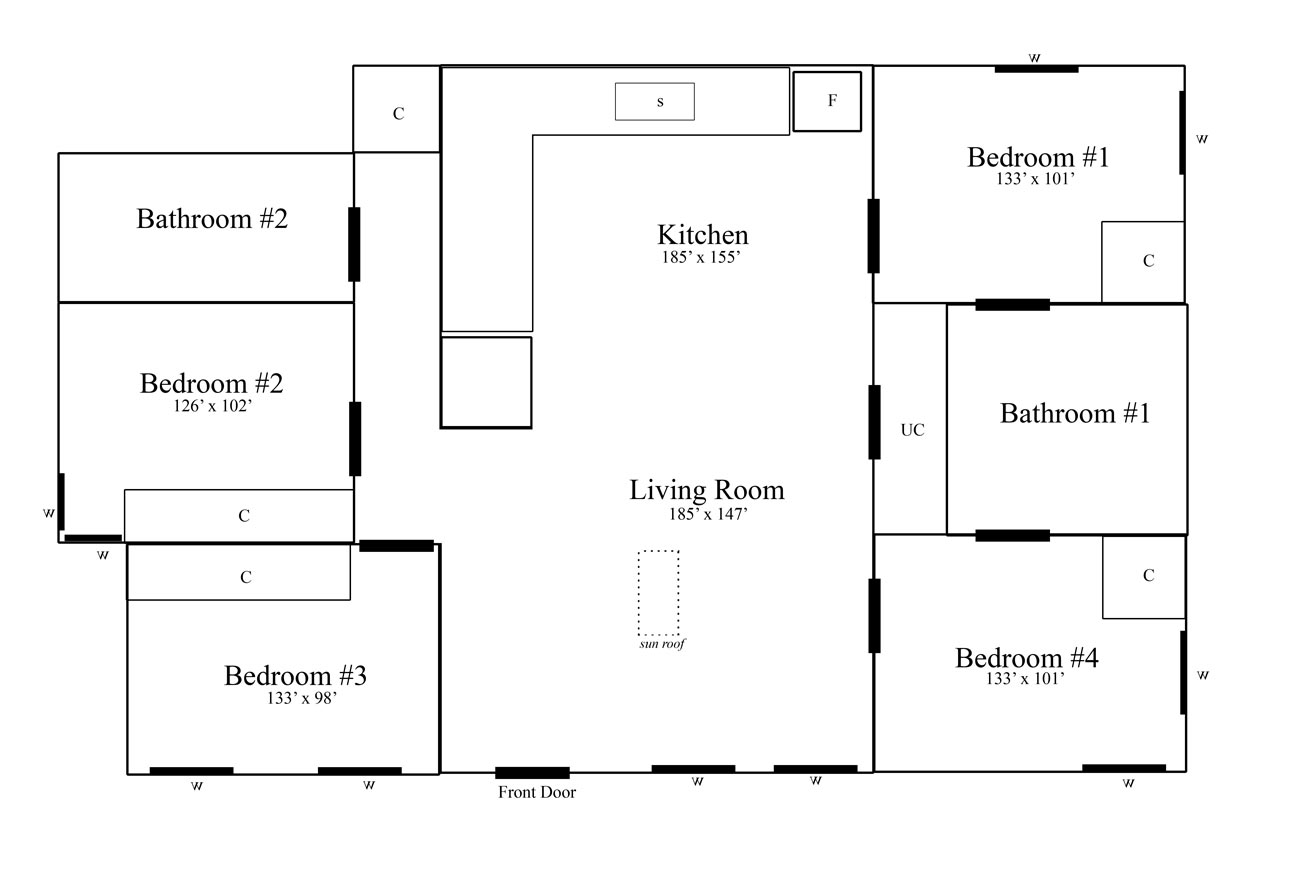 28 Floor Plan Measurements Fabulous Family Phoenix